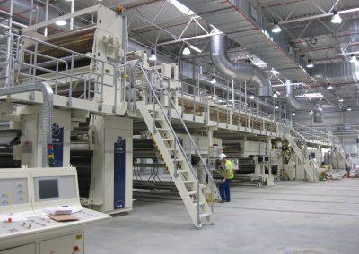 Montaż oraz relokacja maszyn, tekturnic i urządzeń